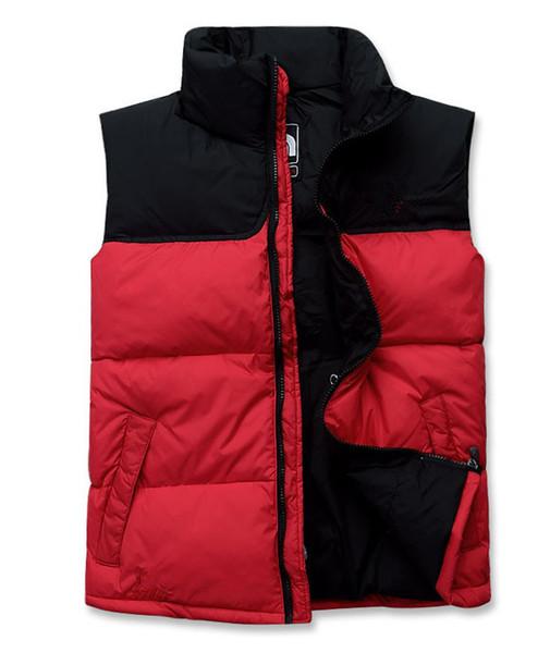 hot sale Fashion Brand THE Men women Winter Warm Down Vest Feather Dress Jackets Men Outdoor Waterproof Down Vests Coat Man Jacket Waistcoat