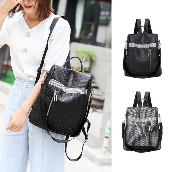 Luxury Vintage Designer Backpack Waterproof Bag Youth Leather Anti-Theft Shoulder Casual Bag Leisure Rotro Designed Backpack