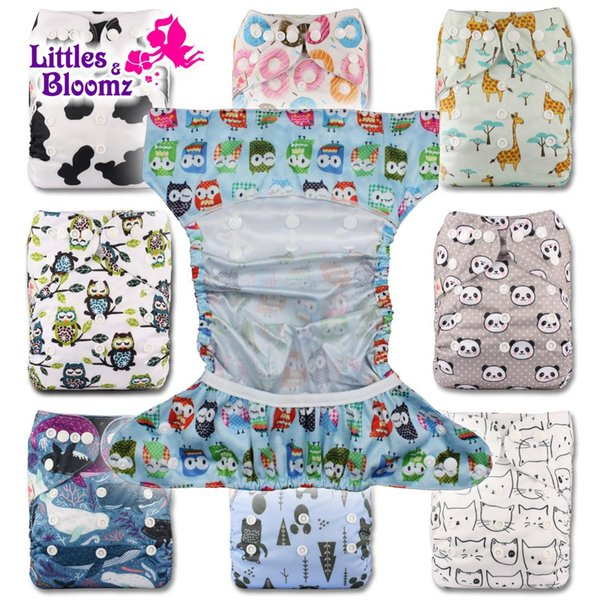 2019 New Baby One Size Reusable Cloth NAPPY Cover Wrap To Use With Flat or Fitted Nappy Diaper By