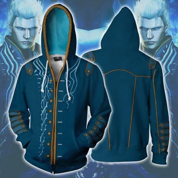 Призрак крик синий свитер
