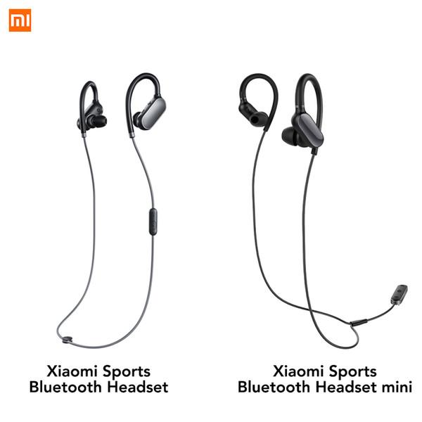 Original Xiaomi Mi Sports Bluetooth Headset Mini Version Wireless Earbuds With Microphone Waterproof Bluetooth 4.1 IPX4 Earphone