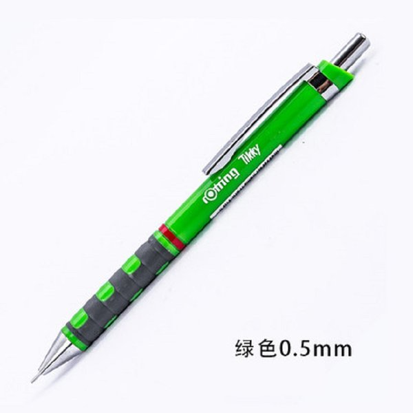 German rotring Tikky write continuous core automatic pencil 0.5 or 0.7 student cute writing drawing design activity pencils 2PCS