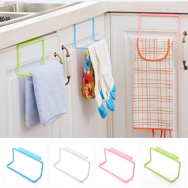 2019 Kitchen Storage Holders Door Tea Towel Rack Bar Hanging Holder Rail  Organizer Bathroom Kitchen Cabinet Cupboard Hanger Shelf XD21579 From  Onlove, ...