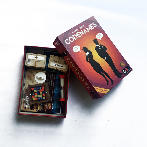 top popular Confidential Action Codenames Board Game Family Friend Party Game Card Game Y200421 2021