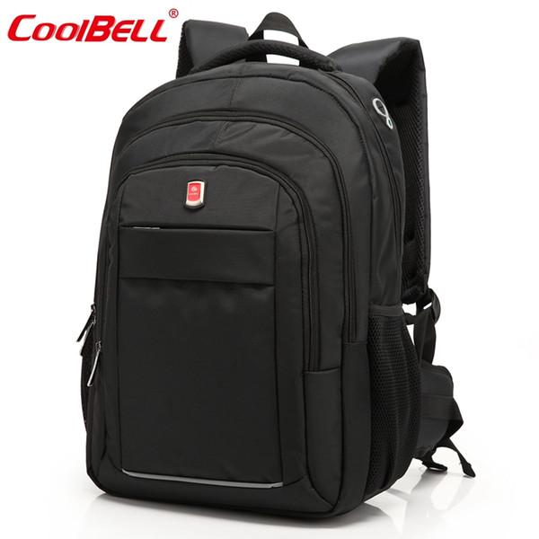 Cool Bell Brand Large Waterproof Bag Backpack 15.6,17.3 inch Business Notebook Bag for Men Women Laptop Computer Backpack 15 17