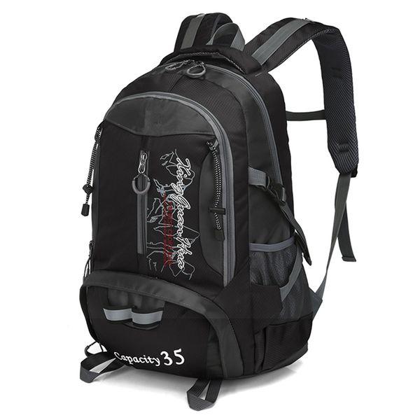 35L Waterproof Tactical Backpack Hiking Bag Laptop Rucksack Travel Outdoor Bags Men Women Sports Bag Cycling Climbing Backpack #108778