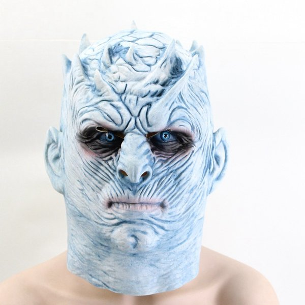 Game Of Thrones Halloween Mask Night's King emulsion Halloween Mascara Cosplay Costumes Party envío gratis