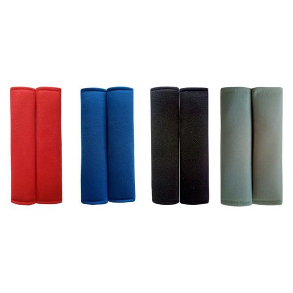 Auto Sicherheitsgurt Abdeckung Schwarz Classic 3 Schichten Schutz Auto Sicherheitsgurt Abdeckung 4 Jahreszeiten Auto Schultergurt für alle Limousine