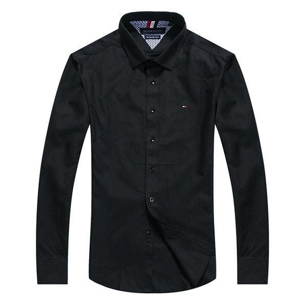 Wholesale 2019 New Spring Men Shirt Lattice Design Korean Style Casual Mens Plaid Shirts Man Long Sleeve 100% cotton dress men shirts M-XXXX