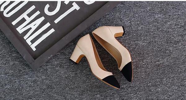 Designer Womens Summer Pumps Shoes 65mm High Heels Slingback Beige Gray  Black Two Tone Leather Womens Ladies Luxury Sandals Size 34 41 Box Skechers