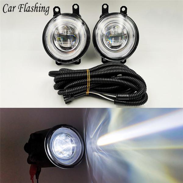 2Pcs 12V L+R Car Fog Light Lamp H11 Bulb 55W Yellow Light For Toyota Camry Corolla Yaris RAV4 for Lexus LX570 RX450h IS250