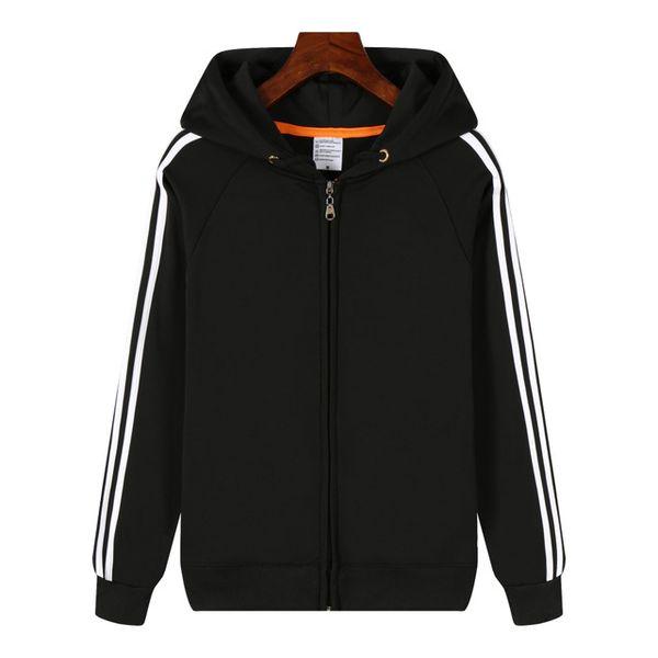 Black white stripe(Zip)
