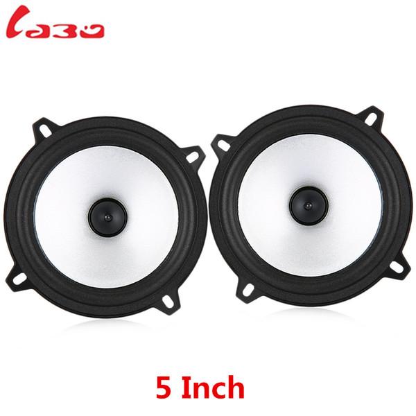 LABO Emparelhado 5 Polegada 60 W 2 Way Car Hifi Coaxial Falante Auto Música de Áudio Estéreo de Freqüência de Faixa Completa Loundspeakers para Veículo Do Carro