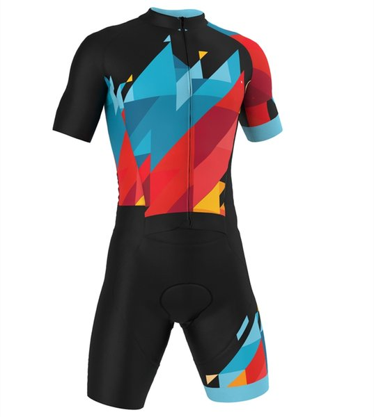 top popular 2020 summer men women triathlon suit triatlon cycling jersey skinsuit ropa ciclismo rode racing bike clothes jumpsuit 2019