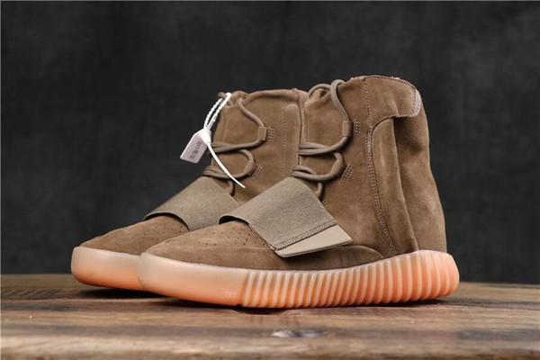 2019 Best SPLY 750 Men Designer High Top Outdoor Sneakers Kanye West Hot Sale Lady Grey Khaki Brown Black Casual Skateboard t12