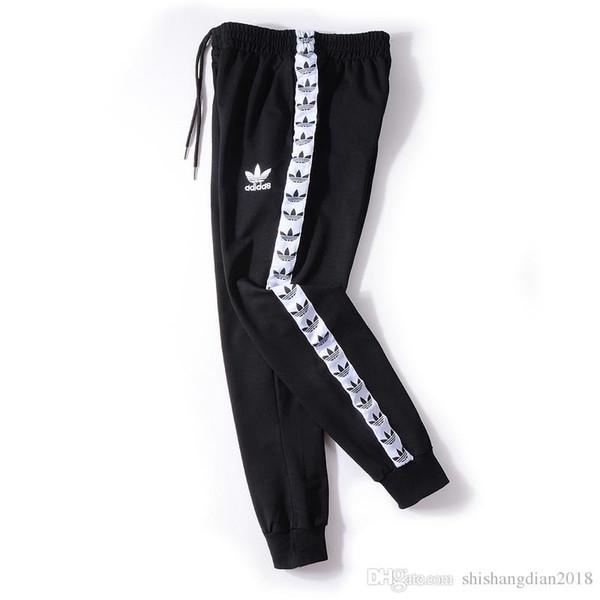 Toptan - Erkek Harem Koşu Spor Pantolon Elastik Manşetleri Pantolon Knights Erkek Koyu Gri Koyu Gri Beyaz Pantolon Koşu