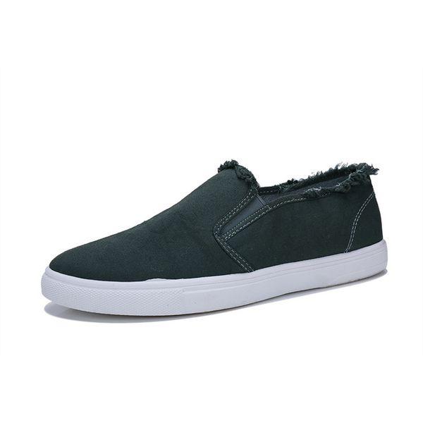 SJfashionsalon 19S/S INS Hottest Sale Men Selvedge Edge Classic Stylish Plain Color Low-cut Casual Comfortable Canvas Shoes
