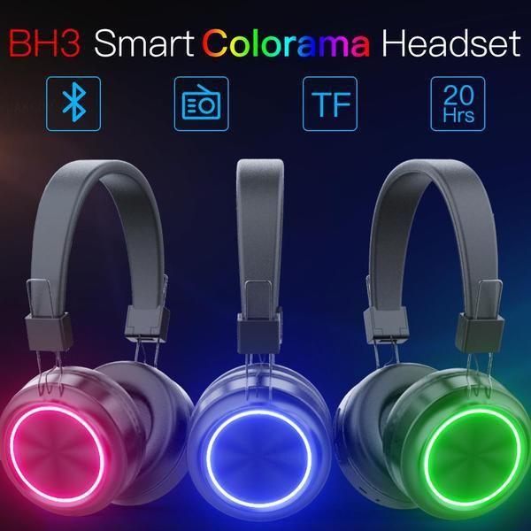 JAKCOM BH3 inteligente Colorama Headset nuevos productos en los auriculares del revólver como Guangdong portátil celular CO2