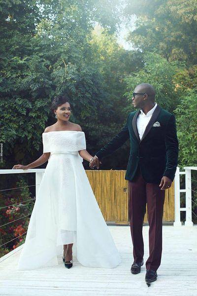 Alta Qualidade Dois Botões Groomsmen Xaile Lapela Do Noivo Smoking Ternos Dos Homens de Casamento / Prom Melhor Homem Blazer (Jacket + Pants + Tie) A88