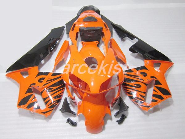 Calidad OEM Nuevos kits de carenados de ABS aptos para HONDA CBR600RR F5 2003 2004 03 04 CBR 600RR conjunto de carrocerías personalizado Conjunto de carenado naranja gratis