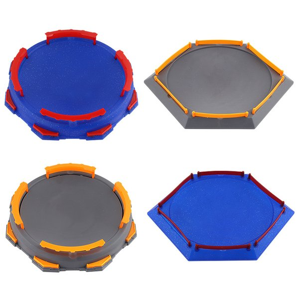 10pcs/lot Beyblade Burst Gyro Arena Disk Exciting Duel Spinning Top Toy Accessories Arena Beyblade Stadium Kids Best Gifts