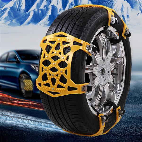 Universal Vehicles Thickened Widened Non-slip Wheel Snow Chain Winter Truck Car Snow Tire Chain Anti-skid Belt Car Accessories