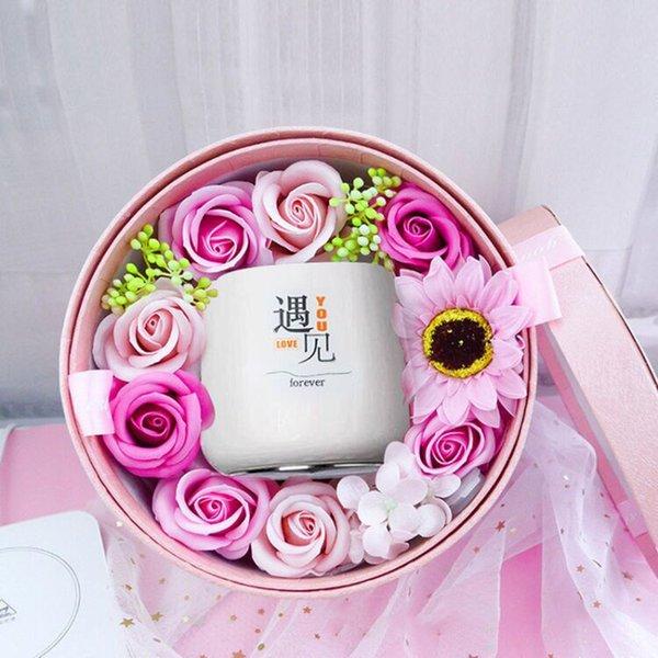 coffret cadeau fleur de savon - meet_350-400ml