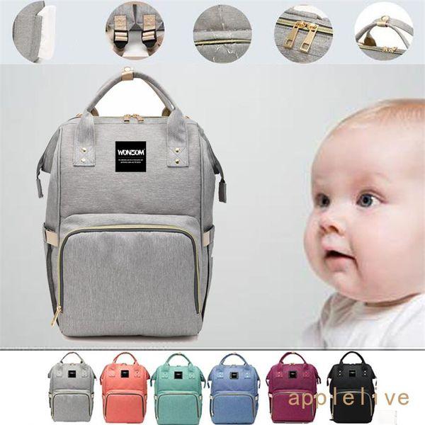 Пеленки сумка, Becmd большой емкости Пеленки сумка рюкзак, Многофункциональный Путешествия Рюкзак подгузник сумка, медсестра сумка, мода Мумия сумка 2018