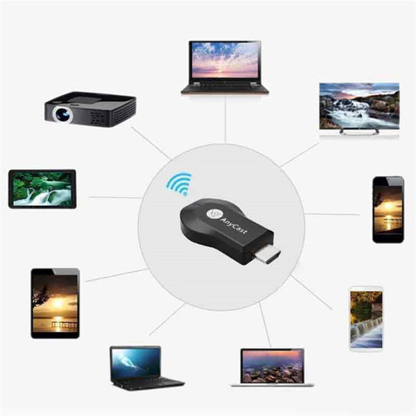 Top Quality Anycast M2 M4 Plus Wifi Wireless With Screen Push Treasure Mobile Phone Wifi Ezcast Video Cables & Connectors