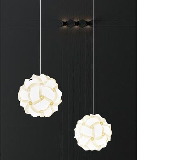 30PCS/BAG PUZZLE LIGHT, IQ LAMP,Infinity Lights Jigsaw Lights Lampshade Lamp Covers