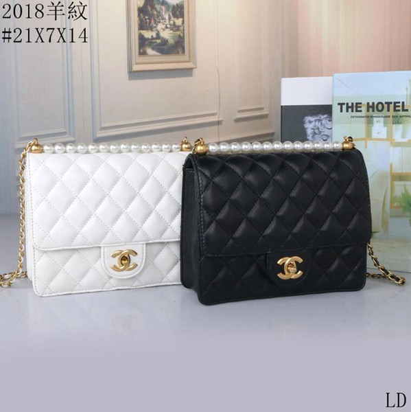 best selling Small clear Brand Designer Woman 2019 New Fashion Messenger Bag Chains Shoulder Bag Female Rivets Transparent Square PU Handbag9101