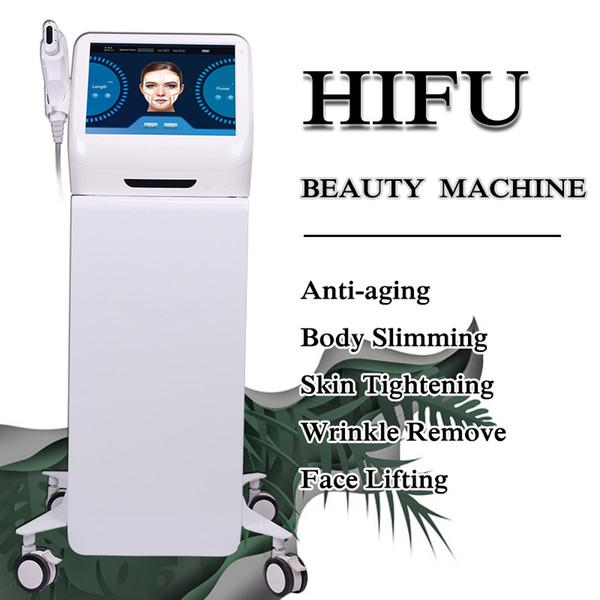 HIFU ультразвук Anti Aging подтяжка лица Hifu Skin Care machine 10000 снимков Профессиональная технология омоложения кожи Hifu Face Lift Machine