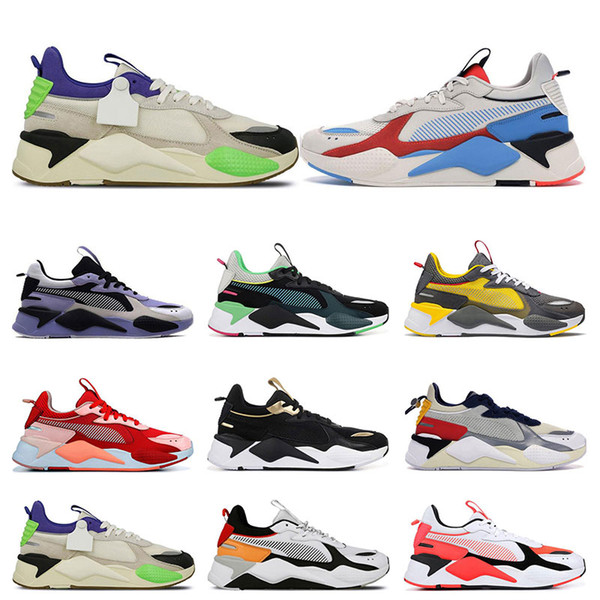 Puma RS-X игрушки мужчины кроссовки BRIGHT PEACH Треки Sankuanz Лаванда мужские кроссовки спортивные кроссовки размер 36-45 мода