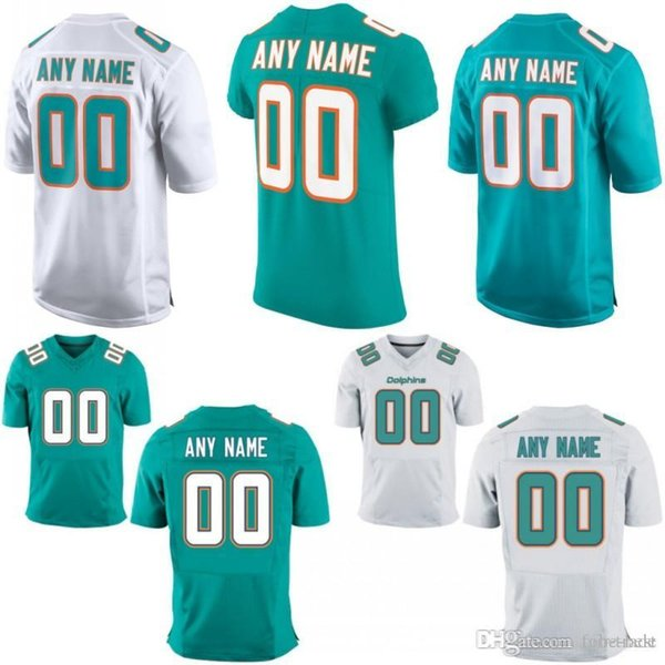 brand new 058c4 b02e2 2019 Custom Men Youth Women Miami Ryan Tannehill Danny Amendola Robert  Quinn Kiko Alonso Kenyan Drake Cameron Wake Dolphins Elite Game Jersey From  ...