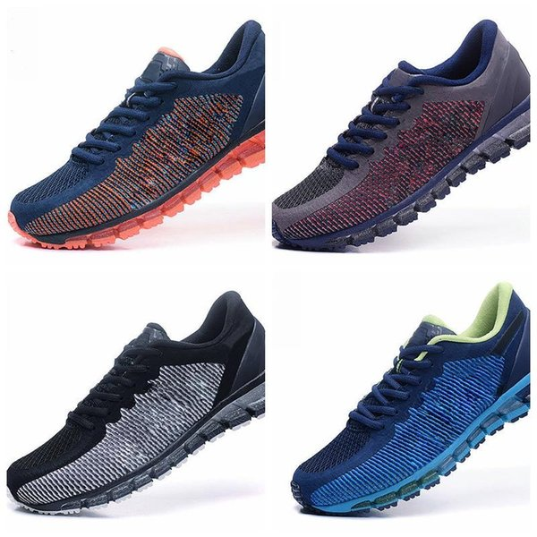 Asics GEL-QUANTUM 360 KNIT 1 2017 Venta al por mayor T5J1N-0990 zapatos corrientes de calidad superior originales hombres descuento deporte zapatillas de deporte EUR 40-45