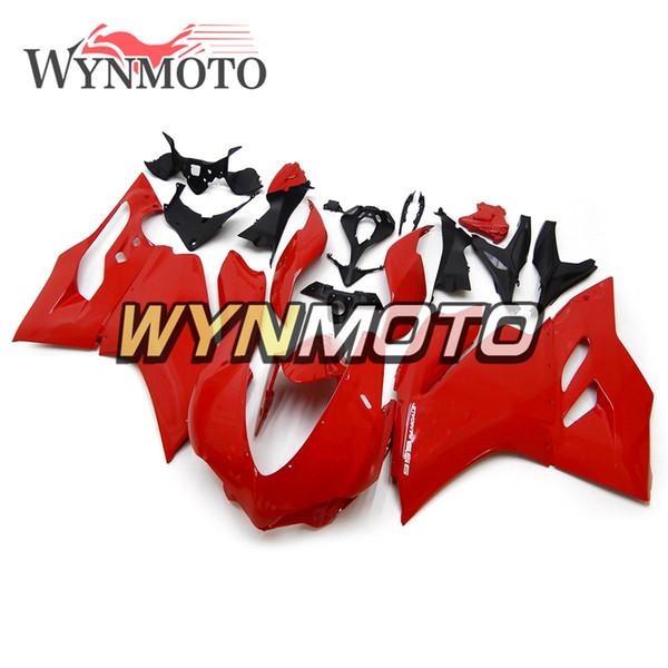 Kit de carenado completo de color rojo perla brillante para Ducati 959 Año 2015 2016 2017 959 ABS Inyección de plástico Motocicleta Carenados Personalizar Carrocería