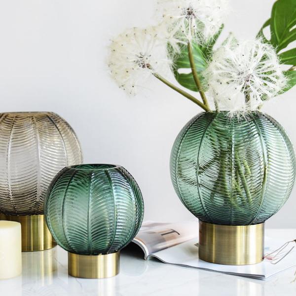 home goods decorative vases.htm modern fashion electroplated glass vase green round shape vases  modern fashion electroplated glass vase