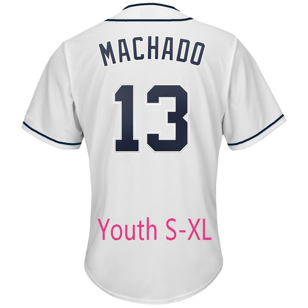 13 youth white S-XL