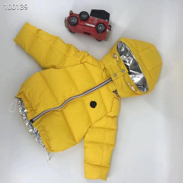 Children Jackets Boys Winter down coat reversible Baby Winter Coat Kids warm outerwear Hooded Coat for Children Clothes in stock