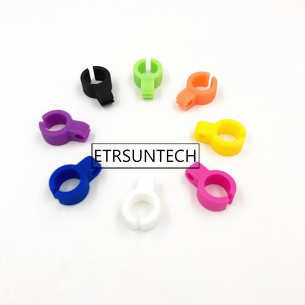 wholesale hot sale 300pcs Silicone Ring Finger Cigarette Holder Hand Rack For Tobacco Regular Smoking Accessoriest