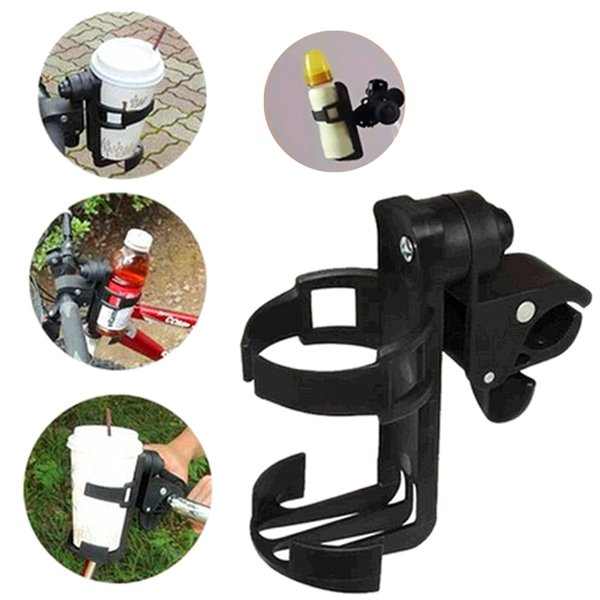 baby Rotatable Baby Cup Holder for Pram Parent Console Organizer Bicycle Bottle Holder Rack Stroller Accessories