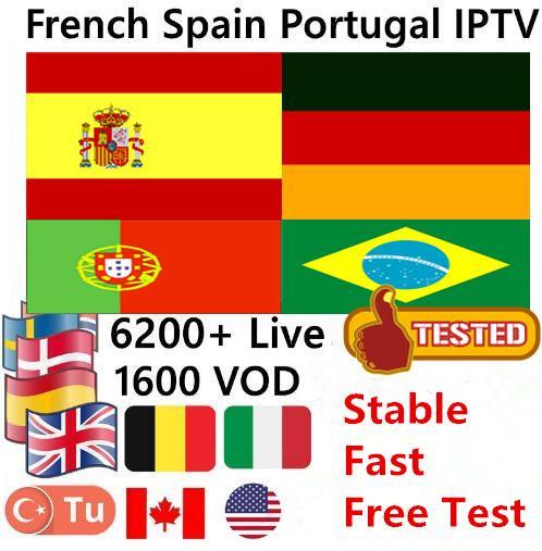 Avrupa IPTV Abonelik İtalya Fransa Hollanda Portekiz Türkiye İspanya İNGILTERE Almanca 3/6/12 Ay M3U Mag Android Akıllı TV Için iptv hesabı