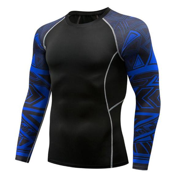 Camiseta deportiva y deportiva para hombre Camiseta camiseta deportiva Ropa deportiva de manga larga, transpirable y de secado rápido, entrenamiento de baloncesto, deportes