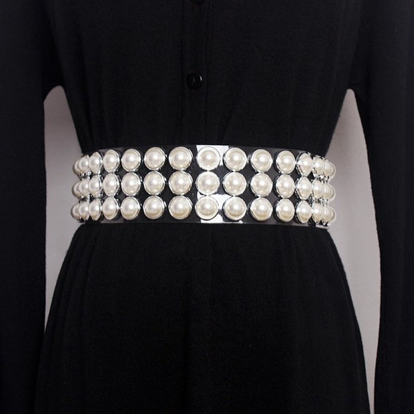 Pearls1 Belt-One Size