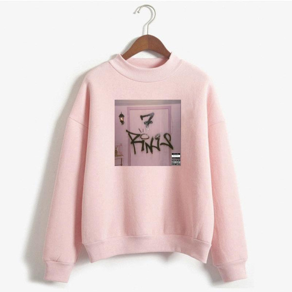 Bts Sweatshirt Ariana Grande 7 Rings Women Hoodie Seven Rings Thank U Next Clothes No Tears Left To Cry God Is A Woman Sudaderas
