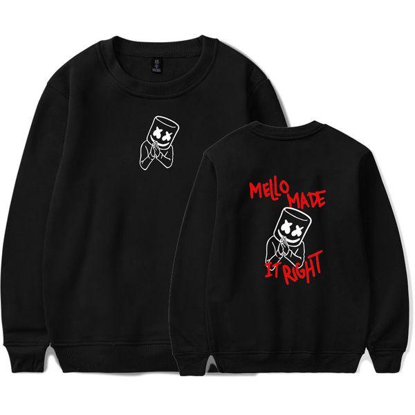 mens designer sweaters marshmello Print Hoodies Women Men luxury hoodie Long Sleeve Sweatshirts hip hop Harajuku sweatshirt Casual Clothes