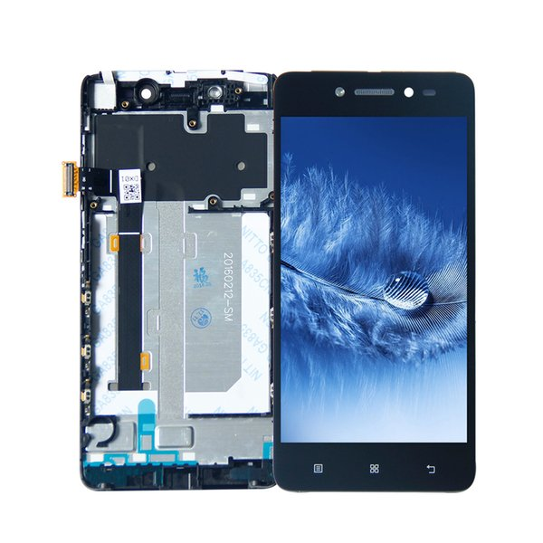 For Lenovo S90 LCD Display Touch Panel Screen Digitizer Assembly with Frame White Black Free Tools