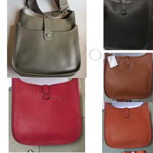 PM GM Top qualität luxus Frauen Tasche Evelyn Handtaschen Klassische Marke kleine Designer Dame Umhängetaschen h tasche Braun Rot Schwarz Totese55f #
