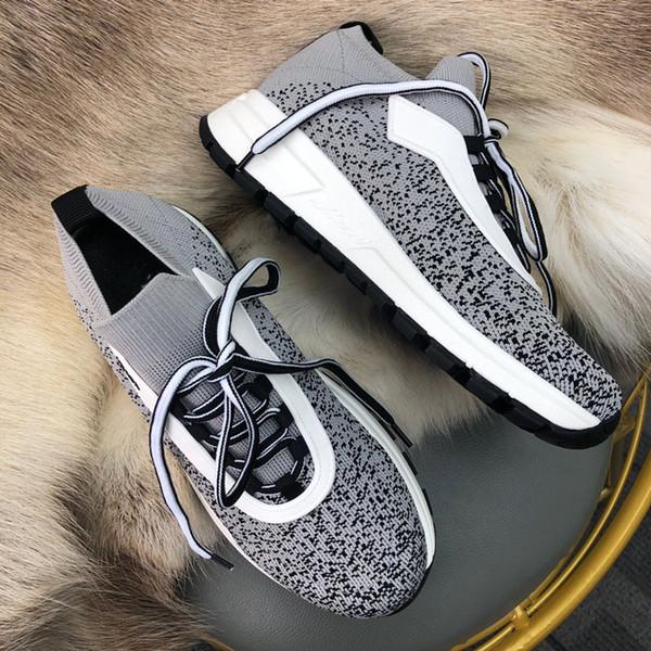 Venta al por mayor nuevas para mujer zapatillas de deporte casuales de cuero blanco Spiked Toe caminar Skateboarding diseñador zapatos deportivos rx19030201