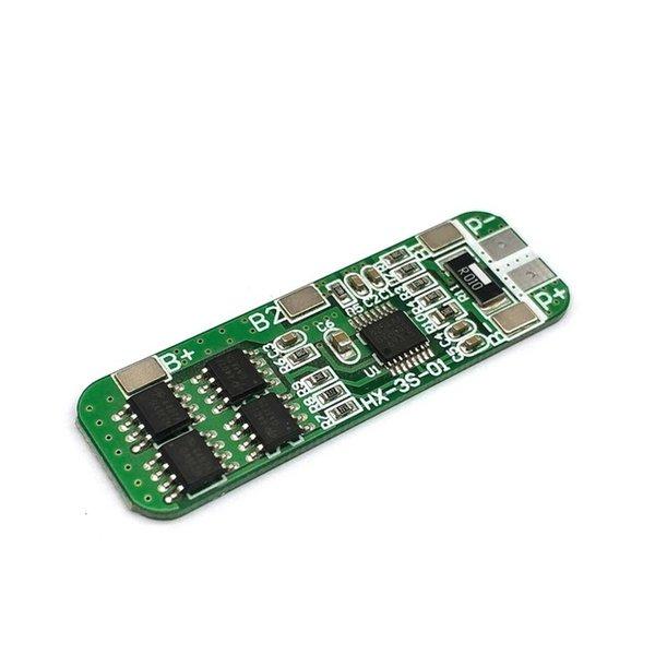Teile Batteriezubehör Ladegerät Zubehör 3S 10A 12V Lithium-Batterieladegerät Schutzbrettmodul für 3 stücke 18650 lipo ...